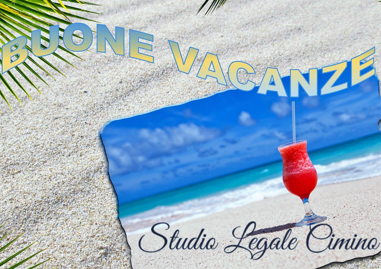 Le migliori e più serene vacanze a tutti